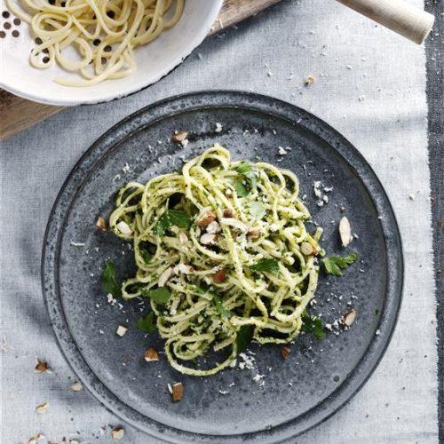 Lynhurtig og så lækker pastaret. Opskrift af Maria Faarvang og foto af Maria Warnke Nørregaard / Kam.