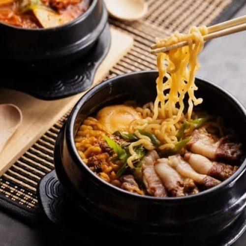 Buffet kinesisk restaurant